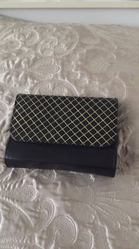 Black clutch purse so cute