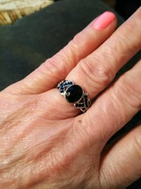 Black Onyx, Silver ,925 ring Westville, 08093
