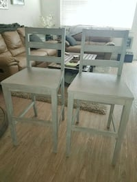 Set of 4 shabby chic rustic bar chairs 3151 km