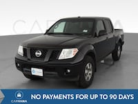 2012 Nissan Frontier Crew Cab pickup PRO-4X Pickup 4D 5 ft Black Jeffersontown