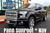 2017 Ford F-150 Limited 4WD Black Las Vegas, 89119