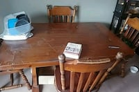 brown wooden dining table set Kitchener, N2C 0A4
