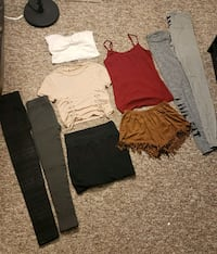 New clothing lot... small size. NO OFFERS Edmonton, T5G 2T6