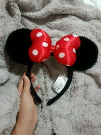 Authentic mini mouse headband from Disneyland  Vancouver, V5S 2N8