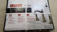 Brand New Sealed Delta Rila Two Handle 8 Widespread Bathroom Lavatory Faucet Chantilly