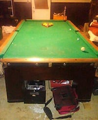 1927 Brunswick 9ft regulation pool table.  465 mi