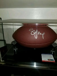 49ers Steve Young signed & authenticated football  Toronto, M1L 2T3
