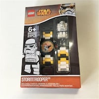 Lego Star Wars Storm Trooper watch #5005167 NIB