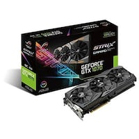ASUS GeForce GTX 1070 8GB ROG STRIX OC Edition Graphic Card STRIX-GTX1070-O8G-GAMING FRANKFURT