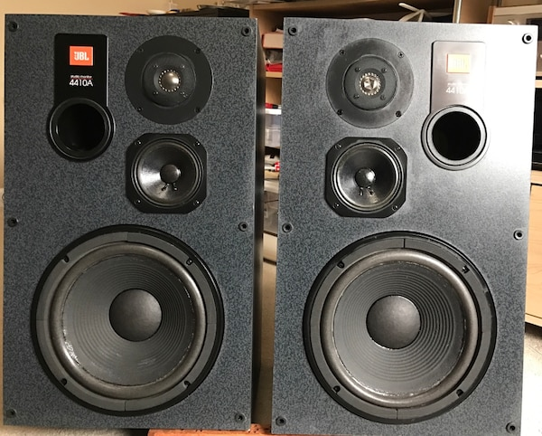 used vintage jbl 4410a speakers professionally refoamed excellent condition for sale in south. Black Bedroom Furniture Sets. Home Design Ideas