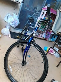 blue and black hardtail mountain bike Westminster, 92683