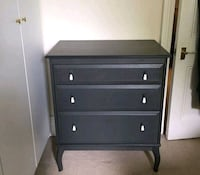IKEA Edland 3 drawer dresser gray West Vancouver, V7V 3S9