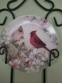 Collector Cardinal plate Leesburg, 20175
