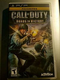 Call Of Duty: Roads To Victory - PSP  Vaughan, L4L 1A7