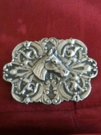 Collectibles.vintage 1974 horse cowboys buckle National City, 91950