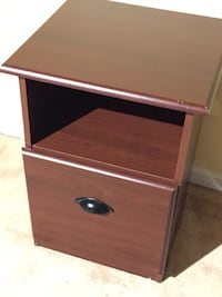 File Cabinet & Printer stand cherry wood - single drawer Alexandria, 22312
