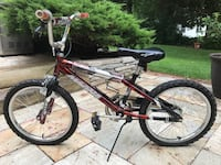 red and black BMX bike Herndon, 20171