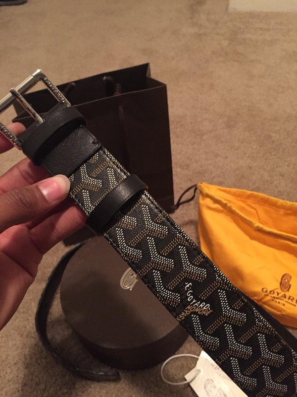 023795a5699 Used Goyard Belt Black for sale in Houston - letgo