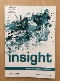 Insight. Upper-Intermediate Workbook