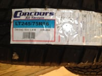 Corcours all terrain auto tire