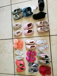 assorted pairs of shoes and sandals Fresno, 93722