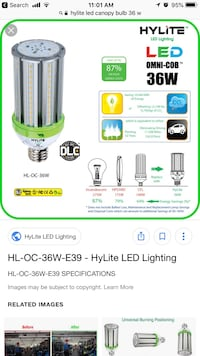 Hylite Led outside Lamp ( New ) $$ saver Alexandria, 22310