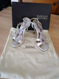 Badgley Mischka size 7.5 shoes worn once Santee, 92071