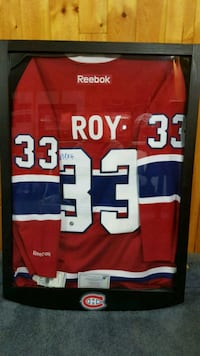 Patrick Roy signed Jersey  Welland, L3C