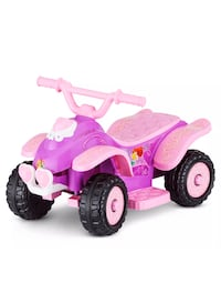 Princess ride-on car