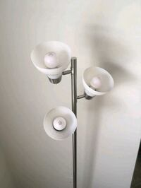 3-Bulbed Silver Standing Lamp Ashburn, 20147