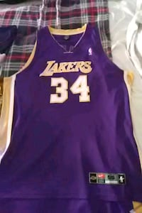 Authentic Shaquille O' Neal Lakers jersey size 56 Germantown, 20874