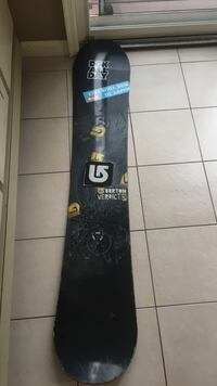 Black and brown snowboard, Bedford, B4A 3M1