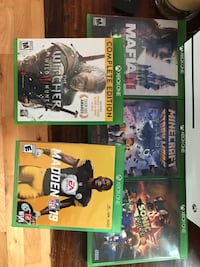 Xbox one all games shown $40 for all Dunmore, 18512