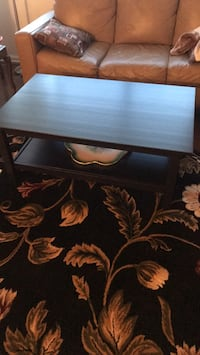 Black and brown floral wooden table Rockville, 20852