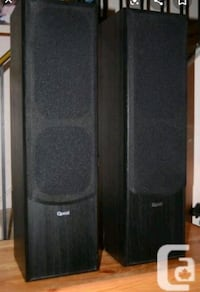 Quest speakers (set of four) St. Catharines, L2R