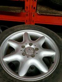 16 inch mercedes rims and tires Mississauga