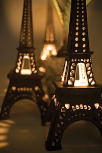 Cast iron Eiffel Tower 13 inches tall
