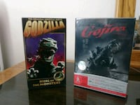 Godzilla King of the monsters factory sealed VHS a Horizon City, 79928