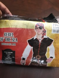Pirate costume. Boys size X large Vaughan, L4H 0G5