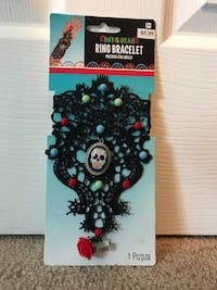 Day of the dead ring bracelet Hanscom Afb, 01731