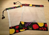 Set of Eco-Friendly, Reusable Produce Bags Calgary, T3E 2S9
