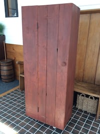 "Antique Cupboard/Chest 5' tall  2' wide 15"" deep 7 shelves Reading, 01867"