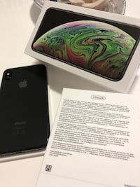 Iphone xs max 256GB, space grayy Oslo, 1068