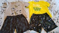 2 sets of kids pj's size 5T Cambridge