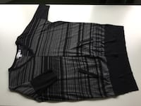 black and gray plaid dress shirt Toronto, M6R 1Z8