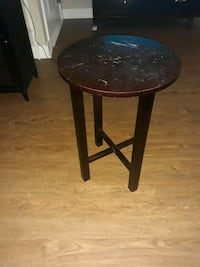 side table, minor scratches can be fixed.  Quincy, 02169