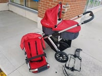 baby's red and black travel system Vaughan, L4J 9K5