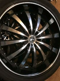 Rims & Tires.   24 in Chevy/GMC