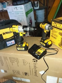 DeWalt cordless hand drill and impact driver with  Mineola, 75773