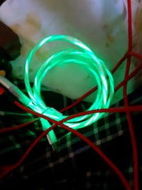 Light up usb cable